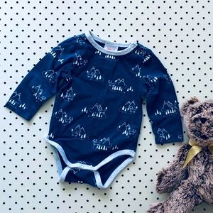 Baby Boy 000 SPROUT Foxxy Onesie, long sleeve